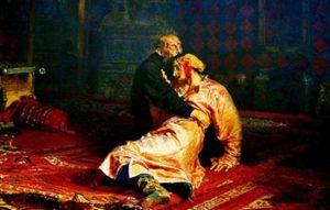 """ثمل يهشم لوحة """"إيفان الرهيب"""" في موسكو"""