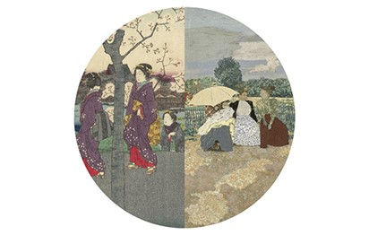 معرض «من وحي اليابان» في اللوفر أبوظبي