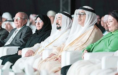 حاكم الشارقة يشهد انطلاق ملتقى الشارقة الدولي للراوي 18