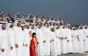 Mohamed bin Zayed receives Emirati poets
