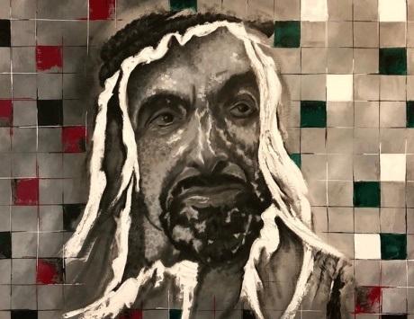 أعمال 20 فناناً عالمياً تحتفي بزايد