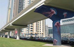 Beautiful street art murals to be painted on Dubai's metro line