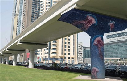 Beautiful street art murals to be painted on Dubai's metro line