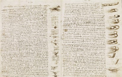 Rare Leonardo da Vinci notebook to go on show at British Library