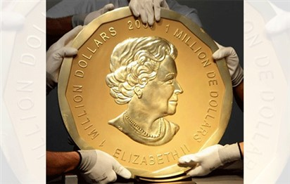 Four men go on trial for theft of giant gold coin from Berlin museum