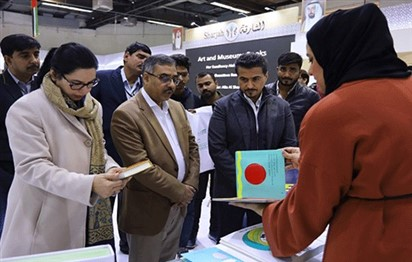 Sohail Mahmood visit Sharjah Pavilion at New Delhi World Book Fair 2019