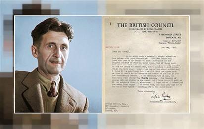 المجلس الثقافي البريطاني يعتذر لجورج أورويل بعد 70 عاماً