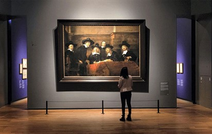 The world's largest Rembrandt collection goes on rare display in
