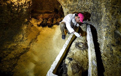 Egypt unveils Pharaonic tomb, home to 50 mummies