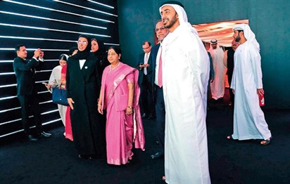 Zayed-Gandhi museum opens to public in Abu Dhabi