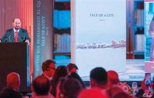 Read more about the article Dr Shaikh Sultan launches English versions of his two books in London