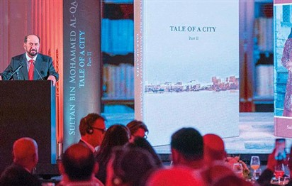 Dr Shaikh Sultan launches English versions of his two books in London