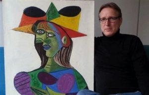 العثور على لوحة مسروقة لبيكاسو يقدر ثمنها بـ 25 مليون يورو