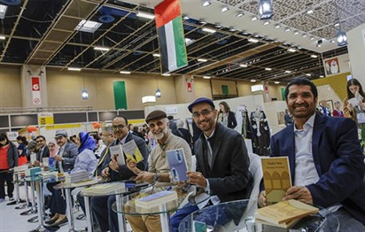 Emirati writers sign their works for Italian readers