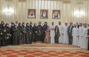 حمد الشرقي يستقبل وفد جمعية الفجيرة الاجتماعية الثقافية