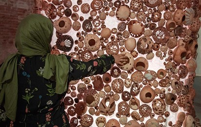 Saudi artist Zahrah Al Ghamdi goes back to her roots for installation at the Venice Biennale