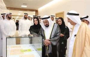 Sultan opens the First Edition of Emirati Book Fair in Sharjah featuring 25 local publishers