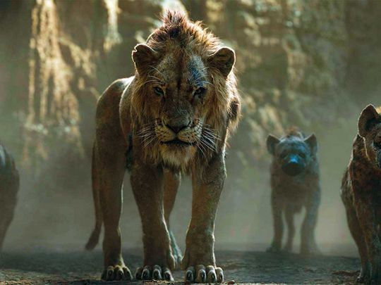 How David Attenborough inspired the 2019 'Lion King
