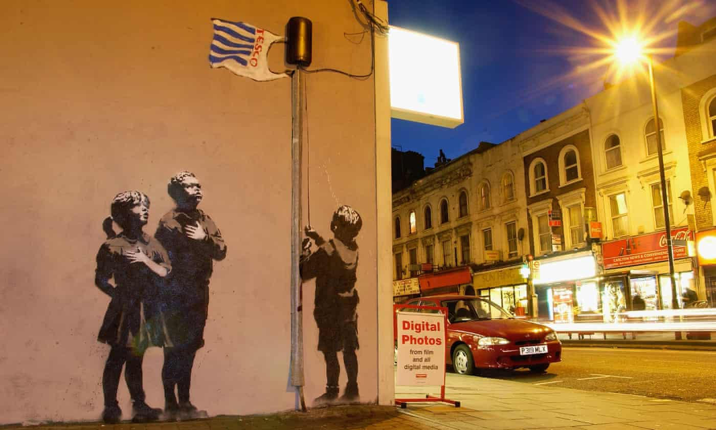 Read more about the article Banksy is the Brits' favourite painter of all time – is this status deserved?