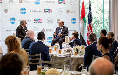 UAE Minister discusses cultural diplomacy in Washington