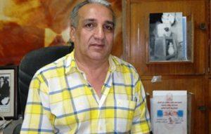رحيل إبراهيم الخياط أمين عام اتحاد كتاب العراق اثر حادث سير