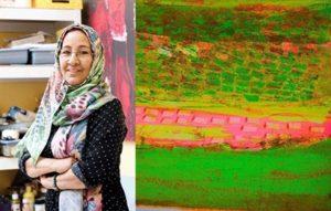 معرض لنجاة مكي في مستهل نشاط المجمع الثقافي