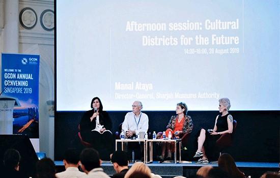 Sharjah's flourishing art scene presented to Singapore