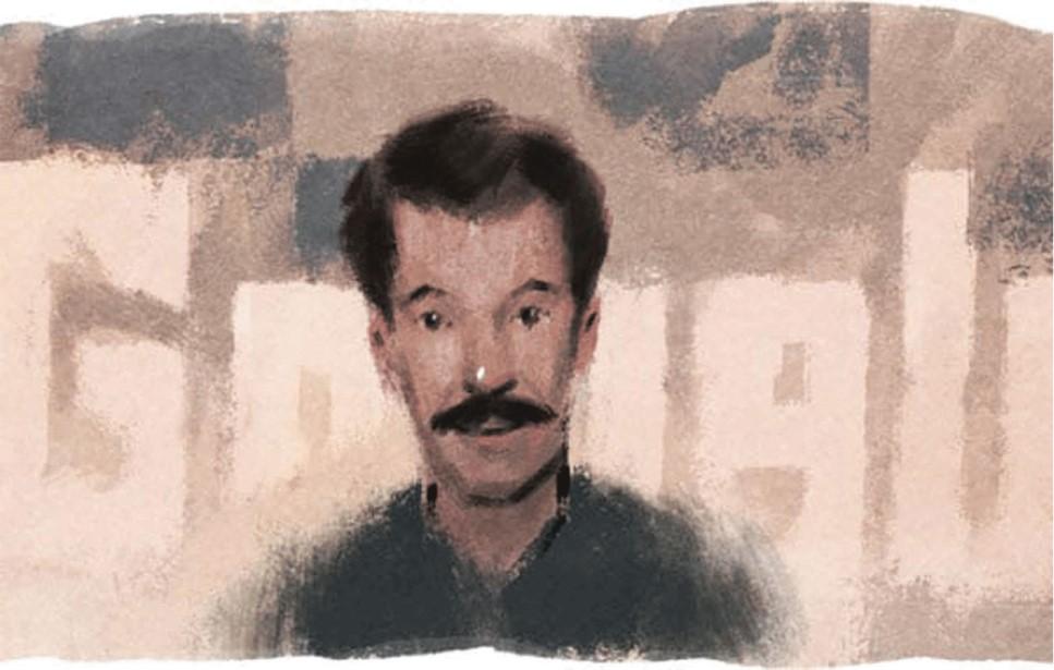 """""""غوغل"""" يحتفل بالرسام والنحات الجزائري محمد خدة"""