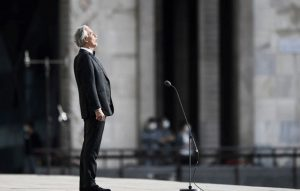 COVID-19: Millions watch Andrea Bocelli sing in empty Milan cathedral