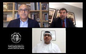 """بمناسبة صدور كتابه """"فروسية الشعر والحب"""" إطلاله افتراضية على حياة سعيد بن عتيج الهاملي  في مؤسسة سلطان بن علي العويس الثقافية"""