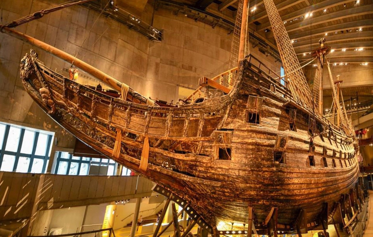 Sweden's Vasa museum offers virtual tours