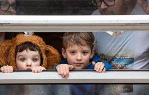 Coronavirus: Bedford Photographer captures 'life through windows'