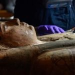 Scottish conservators discover Paintings inside the coffin of a 3,000-year-old Egyptian mummy