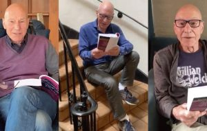 A sonnet a day: Patrick Stewart brings the Bard's words to life in social media series