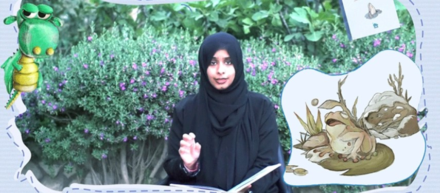 You are currently viewing UAEBBY's campaign hosts live storytelling sessions for children