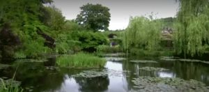 Locals savor Monet's gardens without the crowds