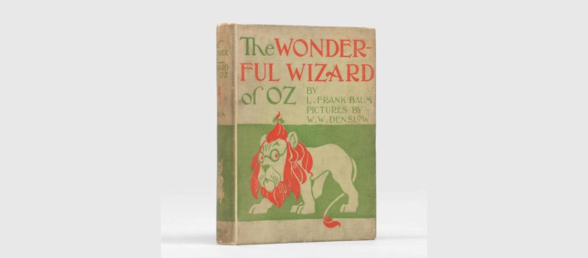 You are currently viewing A Dh250,000 edition of 'The Wonderful Wizard of Oz': rare fantasy and sci-fi books up for sale