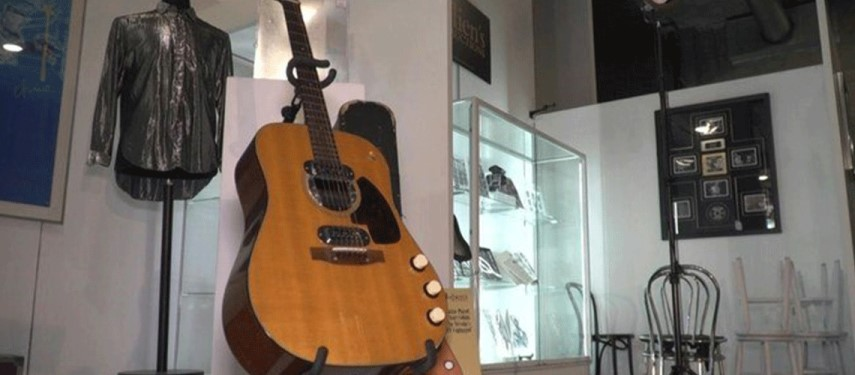 Kurt Cobain's 'Unplugged' guitar sells for record $6 million at auction