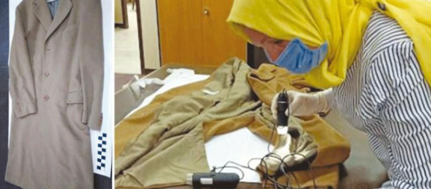 خبراء نسيج مصريون ينقذون معطف نجيب محفوظ من حشرة (العثة)