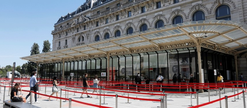 Paris's Orsay museum reopens to smaller crowds