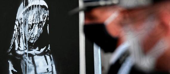 Italy returns stolen Bataclan Banksy artwork to France