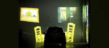 A 'Starry Night' through your windscreen: Drive-in Van Gogh exhibition launches in Canada