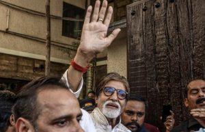 Bollywood megastar Bachchan hospitalized with COVID-19