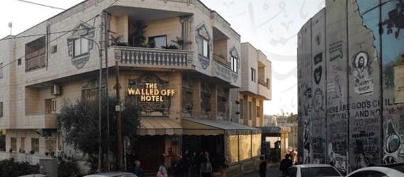 Grateful town of Bethlehem holds Banksy exhibition