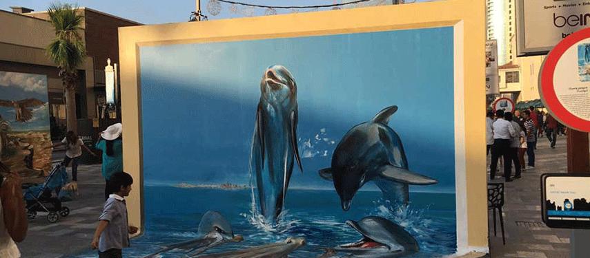 «دبي كانفس».. نافذة على إبداعات إماراتية وعالمية ثلاثية الأبعاد