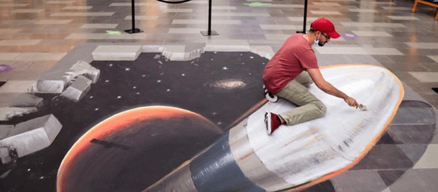 Dubai Canvas artworks highlight humanity's love for adventure