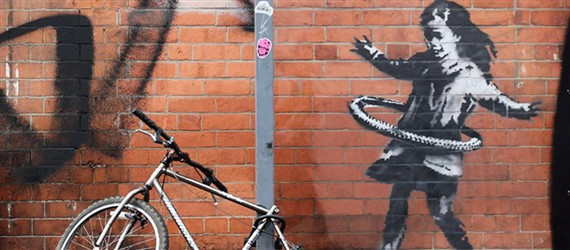 Banksy claims responsibility for mysterious new mural