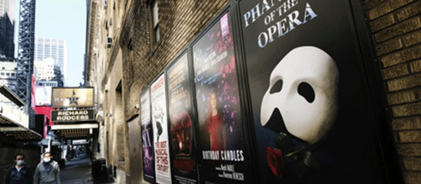 Broadway extends theatres shutdown through mid-2021 amid COVID-19 pandemic