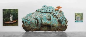 Austrian artist Philip Mueller paints the end of the world in latest Dubai show