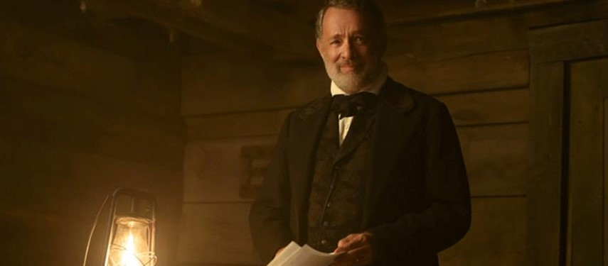 Tom Hanks saddles up for first Western in 'News of the World'